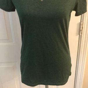 Nike Tops - Nike Womens Dry-Fit Green Tee Shirt